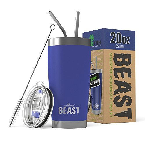 beast tumbler stainless vacuum insulated