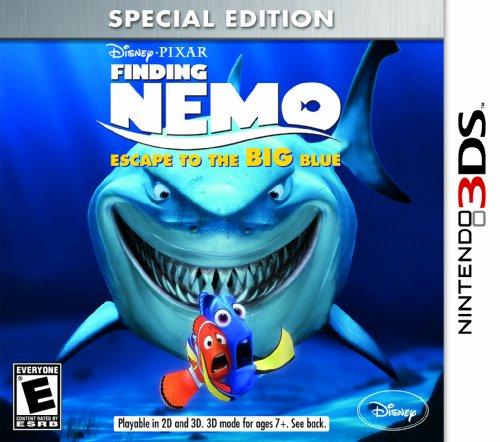 Finding Nemo: Escape to the Big Blue Special Edition - Nintendo 3DS (New Nintendo 3ds Super Mario 3d Land Edition)
