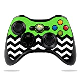 Cheap Protective Vinyl Skin Decal Cover for Microsoft Xbox 360 Controller wrap sticker skins Lime Chevron