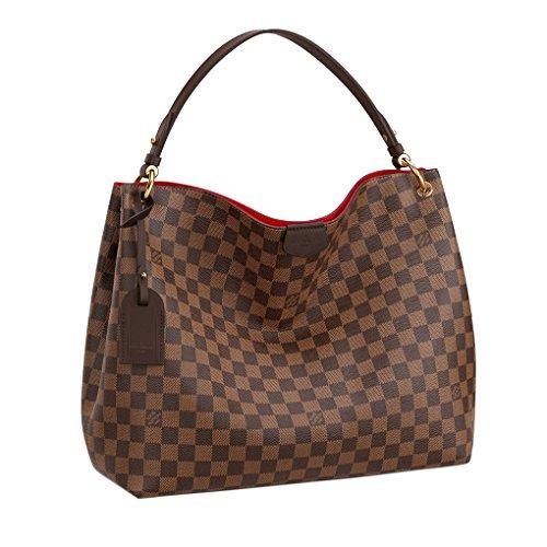 Louis Vuitton Damier Ebene Graceful MM Tote Handbag Article:N44045 ()