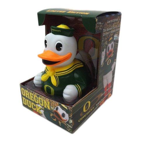 CelebriDucks University of Oregon Duck Mascot Rubber Duck Bath Toy ()