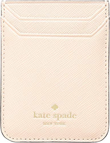 Kate Spade New York Triple Sticker Phone Pocket, Warm Vellum, One Size by Kate Spade New York
