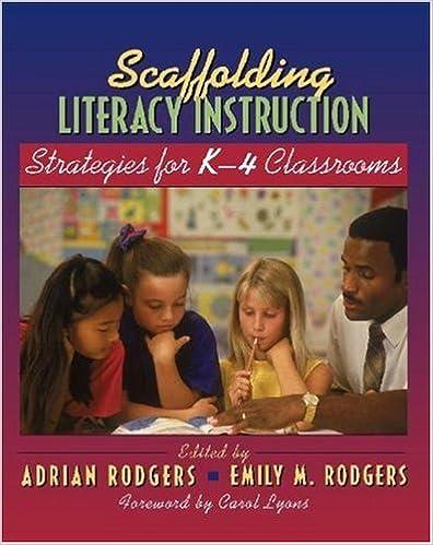 Amazon Scaffolding Literacy Instruction Strategies For K 4