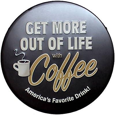 Amazon.com: café favorito Irregular de metal de estilo ...