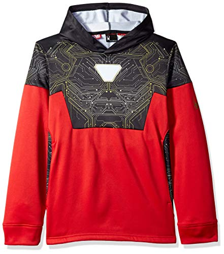 Spyder Boy's Marvel Riot Pullover Hoody, Red/Ironman, X-Large