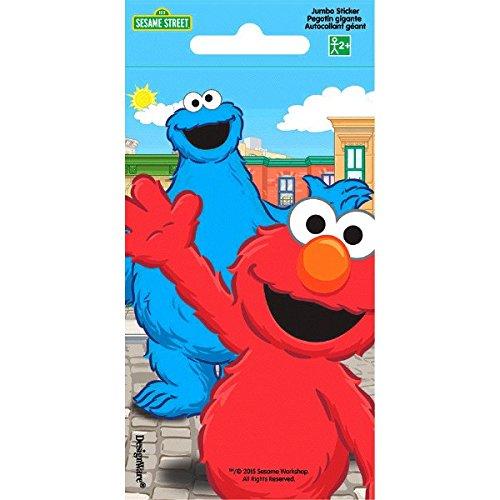 Sesame Street Jumbo Sticker | Party Favor