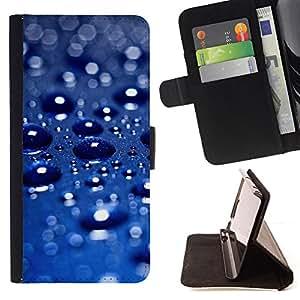 """For HTC Desire 626 626w 626d 626g 626G dual sim,S-type Lluvia del coche azul metálico Sun Perlado"""" - Dibujo PU billetera de cuero Funda Case Caso de la piel de la bolsa protectora"""