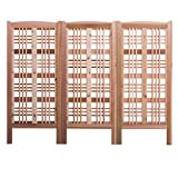 Phat Tommy Outdoor Patio & Garden Claremont Screen (3 Pack) - For your Lawn & Backyard needs, Made in the USA