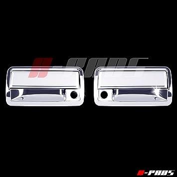 For Honda Pilot 2003-2008 Chrome Door Handle Cover W// Passenger Keyhole