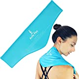 Neck Ice Pack by Arctic Flex - Cold Compress Therapy Wrap - Cool, Reusable Medical Freezer Gel Pad for Swelling, Injuries, Headache, Cooler - Flexible, Soft & Instant