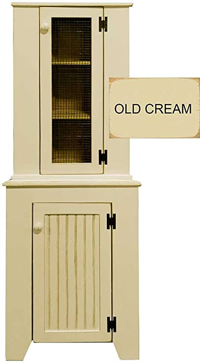 Exceptionnel Sawdust City Corner Hutch (Old Cream)