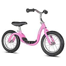 "Kazam V2S No Pedal Balance Bike, 12"", Metallic Pink"