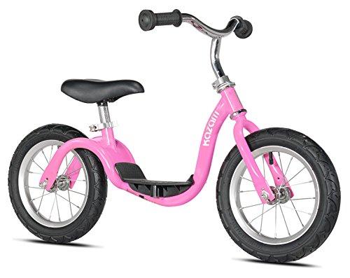 KaZAM v2s No Pedal Balance Bike, 12-Inch, Metallic Pink -  KZM15SPK
