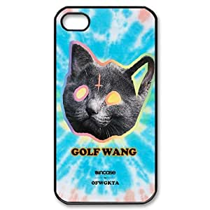 Custom Your Own Ofwgkta Odd Future OF Earl Golf Wang iPhone 4/4S Case , personalised Golf Wang Iphone 4 Cover