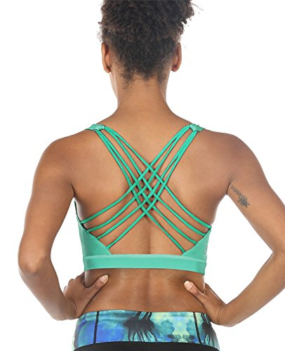 icyzone Sports Bras for Women - Activewear Strappy