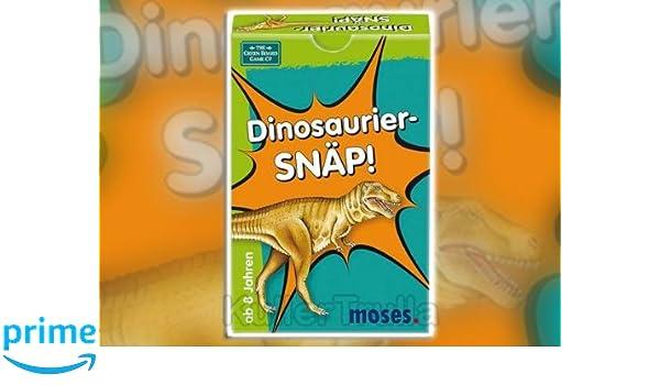 moses - Juego de cartas Dinosaurios (versión en alemán ...