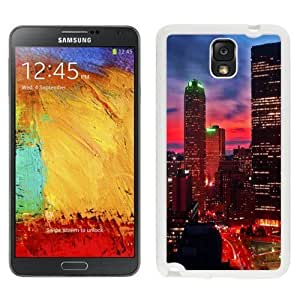 NEW Unique Custom Diyed Diy For SamSung Galaxy S4 Case Cover A N900V N900P N900T Phone Case With Miami At Night City Lights_White Phone Case