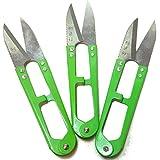 (3-PACK) Bonsai Pruning Scissors, Micro Pruning Shears - Leaf / Bud Trimmers