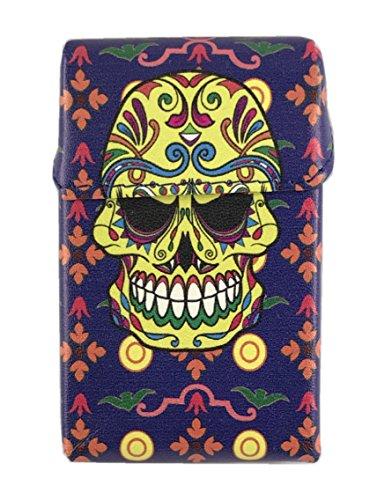 Skull De noir À Choix Paquet Tissu 20 Avec Cadeau Jaune Au Cigarettes Lagiwa Mat Bonus Etui Couleur 1 Offre ICTqa