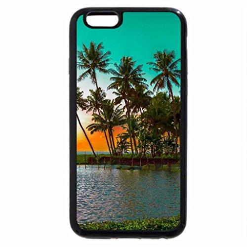 iPhone 6S / iPhone 6 Case (Black) Kumarakom Lake