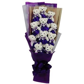Amyove Bouquet Soap Bear Doll Regalos para Aniversario o ...