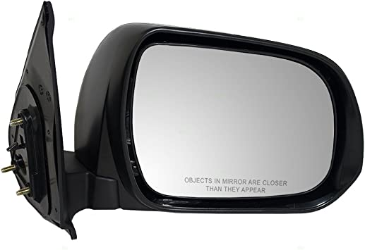 Fits Toyota Tacoma Truck 12-15 Drivers Side View Power Textured Mirror Assembly