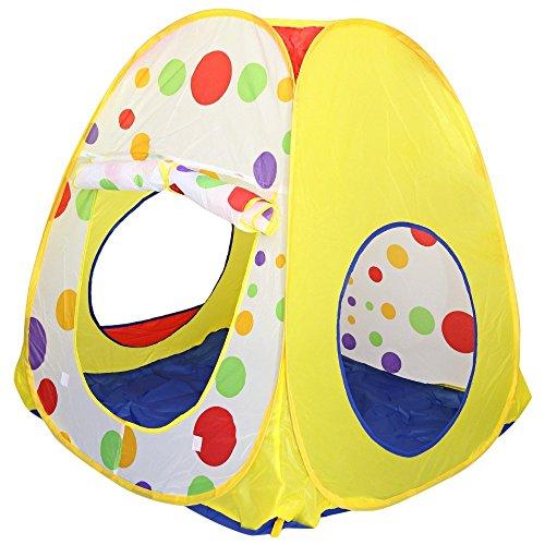 MIJORA-Kids Folding Basketball Ocean Ball Tent Outdoor Sport Educational Toy Play House