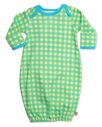 Zutano Unisex-baby Newborn Fair And Square Gown