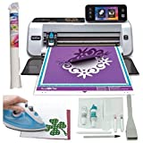 Brother ScanNCut 2 Die Cutting Machine Bundle with Fabric Applique Roll by ScanNCut