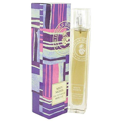 Price comparison product image Misty Nights by Caribbean Joe Eau De Parfum Spray 3.4 oz for Women - 100% Authentic