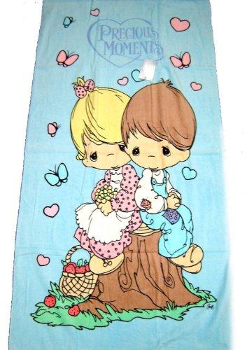[Precious Moments Beach Towel - Love One Another] (Precious Moments Bath)
