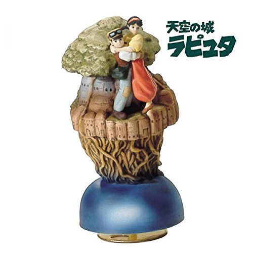 Studio Ghibli Laputa Castle in the Sky Ceramic Music Box by Studio Ghibli