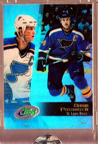 (CI) Chris Pronger Hockey Card 2002-03 Topps E-Topps 27 Chris Pronger
