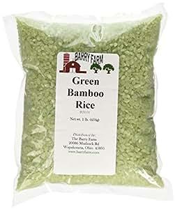 Amazon.com : Green Bamboo Rice, 1 lb. : Rice Produce