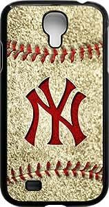 Onelee?? - MLB Team Logo, New York Yankees Logo Samsung GALAXY S4 Cases (Black) - Yankees 3