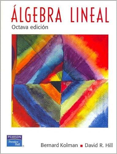 Introductory Linear Algebra By Bernard Kolman Pdf