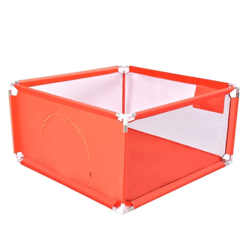 PNFP ベビーベビーサークルポータブル4パネル、子供用安全遊戯場、子供用屋内屋外安全ゲームフェンス (Size : 128×128cm) 128×128cm  B07TYW277L