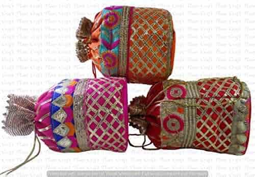 2de40342960c WholeSale 100 pc lot Bulk Indian Purse Coin Purse Women Potli Bag Shoulder  bag by Craft