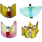 Geek3C Belly Dance Isis Wings for Girls,Cosplay Costumes Carnival Halloween