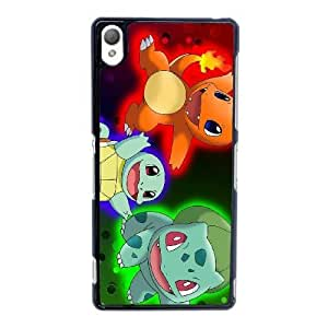 Personalized Durable Cases Sony Xperia Z3 Cell Phone Case Black Pokemon Cartoon Bmgtu Protection Cover