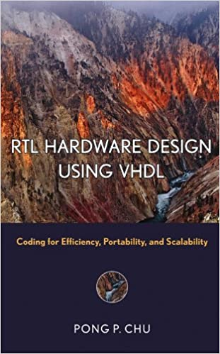 RTL Hardware Design Using VHDL: Coding for Efficiency, Portability, and Scalability Wiley - IEEE: Amazon.es: Pong P. Chu: Libros en idiomas extranjeros