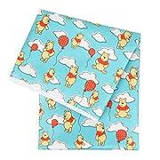 Bumkins Splat Floor Mat for Highchairs (Waterproof), Disney, Winnie the Pooh Balloons