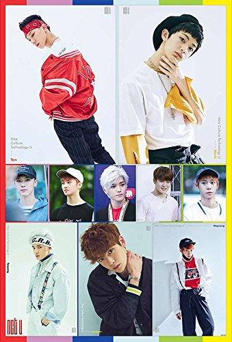 NCT U Korean Boy Band Kpop Wall Decoration Poster (#002)