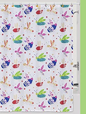 Amazon Creative Bath Products Cute As A Bug Shower Curtain Home Kitchen
