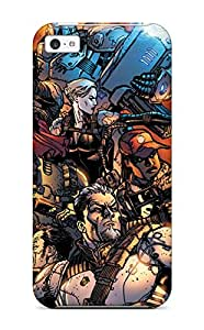 Hot Snap On Deathstroke Hard Cover Case Protective Case For Iphone 5c