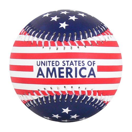 EnjoyLife Inc USA Stars & Stripes Patriotic Souvenir (Souvenir Baseball)