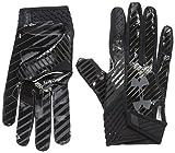 Under Armour Men's Spotlight Football Gloves,Black (002)/Stealth Gray, Small/Medium