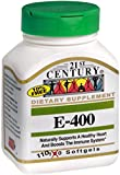 21st Century E 400 I.U. (Dl-Alpha) Softgels, 110 Count (Pack of 2) Review