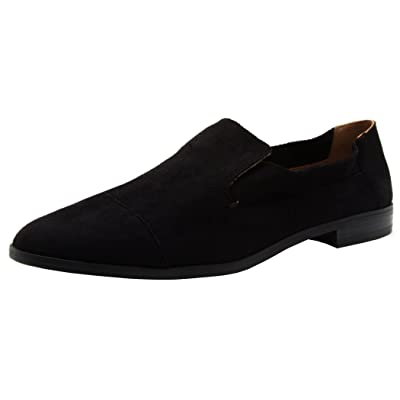 Qupid Women's Slip-On Closed Pointed Toe Loafer Driving Smoking Shoe   Shoes