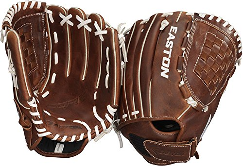 Easton Core Series ECGFP Fastpitch Softball Glove, 12-Inch, Right Hand Throw - Softball Glove For Girls 12